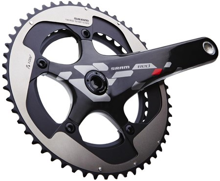 SRAM RED 10 Speed Exogram GXP Crank Set - GXP Cups NOT included