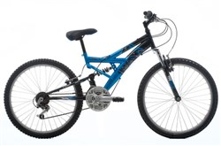 Dakota 24w 2013 - Junior Full Suspension Bike