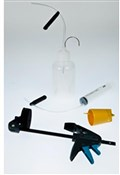 TL-BT03 Disc brake bleeding kit with clamp tool / funnel, bottle and syringe