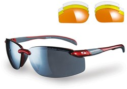 Pacific Sunglasses With 4 Interchangeable Lenses