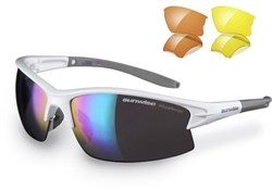 Montreal Sunglasses With 3 Interchangeable Lenses