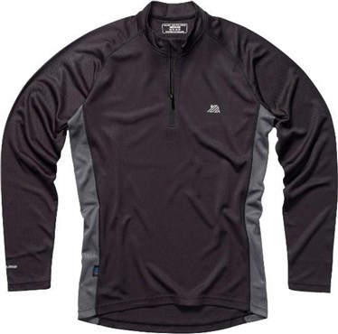 Polaris BL Zip Long Sleeve Cycling Base Layer