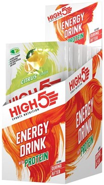 High5 Energy Drink with Protein - 12x 47g Sachet Pack
