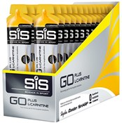 SiS GO Plus L-Carnitine Gel - 60ml x Box of 24