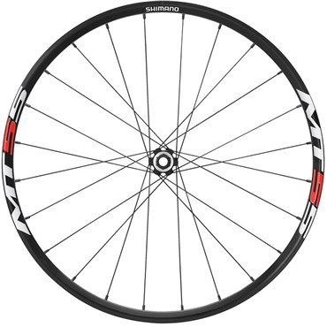 Image of Shimano WH-MT55 Centre Lock Disc Specific Front MTB wheel