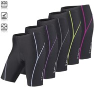 Ladies 8 Panel Viper Cycling Shorts