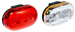 Micro 1 Front / Pico 3 Rear Light Twinpack
