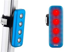 Blinder 4V 4 LED USB Rechargeable Rear Light