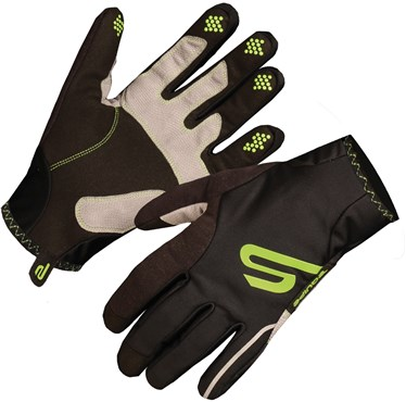 Image of Endura Equipe Exo Waterproof Long Finger Cycling Gloves SS16