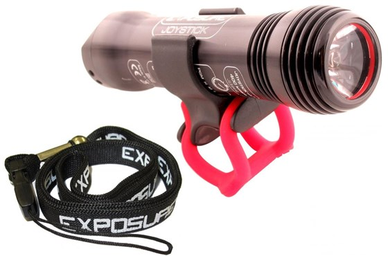Image of Exposure Joystick Rechargeable Front Light with Handlebar Mount and Lanyard