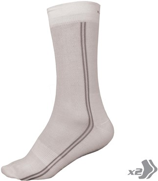 Endura Coolmax Cycling Long Socks - Twinpack SS17