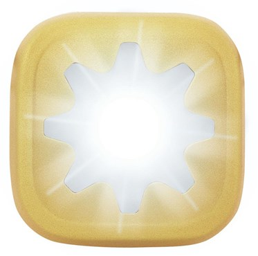 Image of Knog Blinder 1 LED Cog USB Rechargeable Front Light