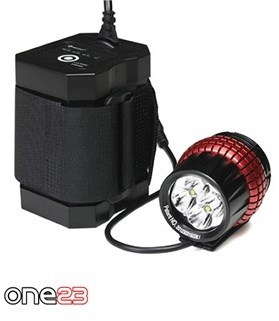 One23 Extreme Bright Quatro 1600 Lumen Rechargeable Front Light