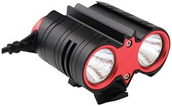 Extreme Bright Duo 2000 Lumen Rechargeable Front Light