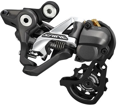 Image of Shimano Saint 10-Speed Shadow+ Design Rear Derailleur RDM820