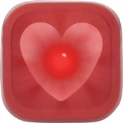 Knog Blinder 1 LED Heart USB Rechargeable Rear Light