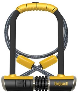 OnGuard Combo DT Combination U-Lock With Lock Cable