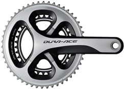 Product image for Shimano Dura-Ace Compact Chainset Hollowtech II FC-9000