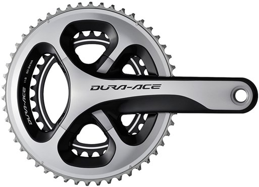 Image of Shimano Dura-Ace Compact Chainset Hollowtech II FC-9000