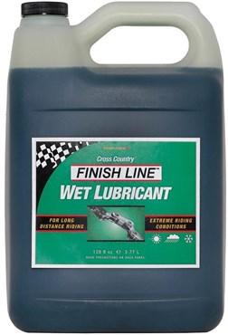 Image of Finish Line Cross Country Wet Chain Lube - 3.8 Litres