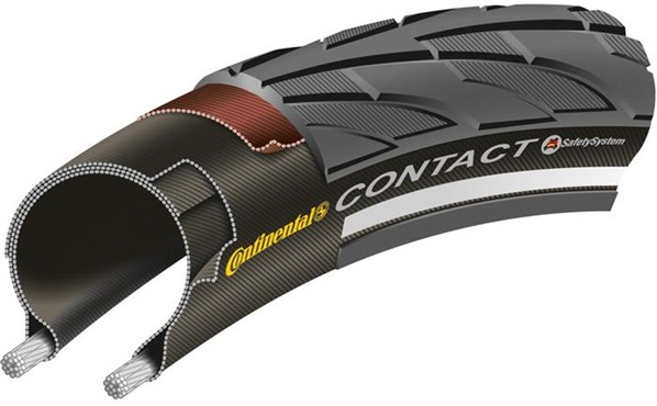 Image of Continental Contact II Reflex MTB Urban Tyre