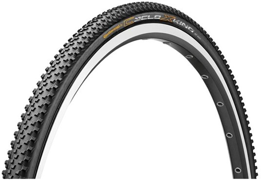 Image of Continental CycloX-King RaceSport - Black Chili Folding Cyclocross Tyre