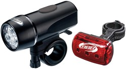BBB BLS-28 - UltraCombo Front & Rear Light Set