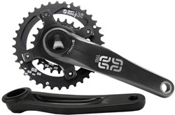 Product image for E-Thirteen TRS Enduro/All Mountain MTB Crankset Double Ring - 170/175mm