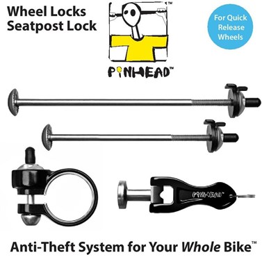 Pinhead 3 Pack Lock Set