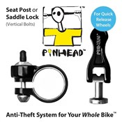 Product image for Pinhead Seatpost/Saddle Lock QR