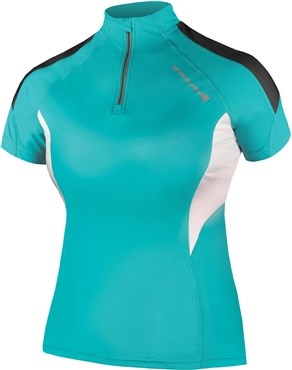 Image of Endura Hummvee Lite Womens Short Sleeve Cycling Jersey SS16