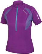 Endura Womens Xtract Short Sleeve Cycling Jersey SS17
