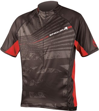 Image of Endura Hummvee Ray Short Sleeve Cycling Jersey SS16