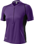 Womens Shasta Short Sleeve Cycling Jersey