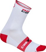 Product image for Castelli Rosso Corsa 13 Cycling Socks SS16