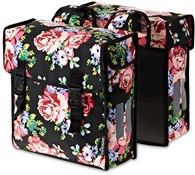 Blossom Roses Double Pannier Bag