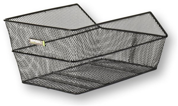 Image of Basil Cento Rear Bag Steel Mesh Basket Fixed Mounting
