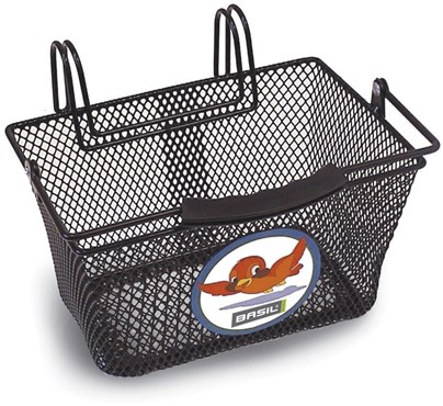 Image of Basil Tivoli Junior Hook-On Handlebar Basket w/ Animal Motif