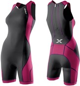 Womens Comp Tri Suit with Rear Zip