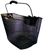 Adie Mesh Basket With Snap Fit Quick Release Fixing Bracket