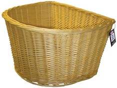 D-Shape Wicker Basket
