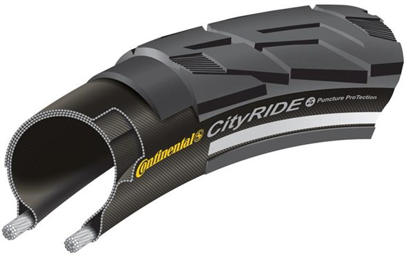 Continental City Ride II Reflective 700c Hybrid Tyre
