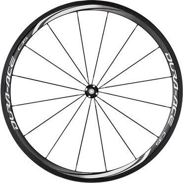 Image of Shimano WH-9000 Dura-Ace C35-TU Carbon Tubular 35mm Front Road Wheel