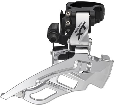 Image of Shimano FD-T781 XT 10-speed Triple Front Derailleur Conventional Swing
