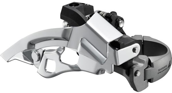Image of Shimano FD-T670 LX Front Derailleur Top Swing Dual Pull Multi Fit