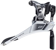 SRAM Force22 Fornt Derailleur Yaw Braze On With Chain Spotter
