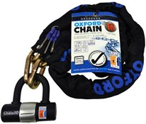 Chain10 Sold Secure Pedal Cycle Gold Chain Lock With Padlock