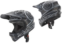 T2 Full Face Carbon Frequency Youth Helmet