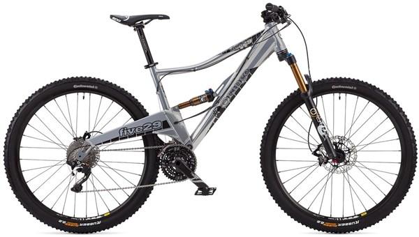 Orange Five 29 Se Mountain Bike 2014 Full Suspension Mtb At Tredz Bikes
