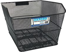 Product image for Oxford Mesh Rear Rack Basket With Fittings